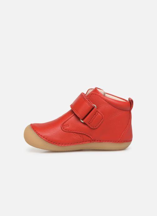 Bottines et boots Kickers Sabio Rouge vue face