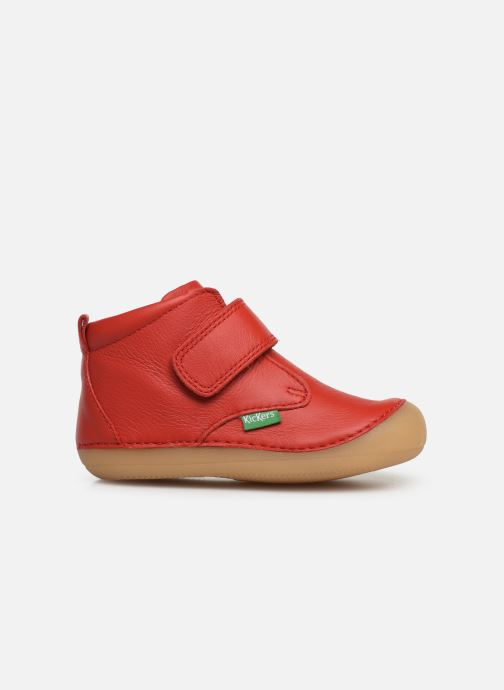 Bottines et boots Kickers Sabio Rouge vue derrière