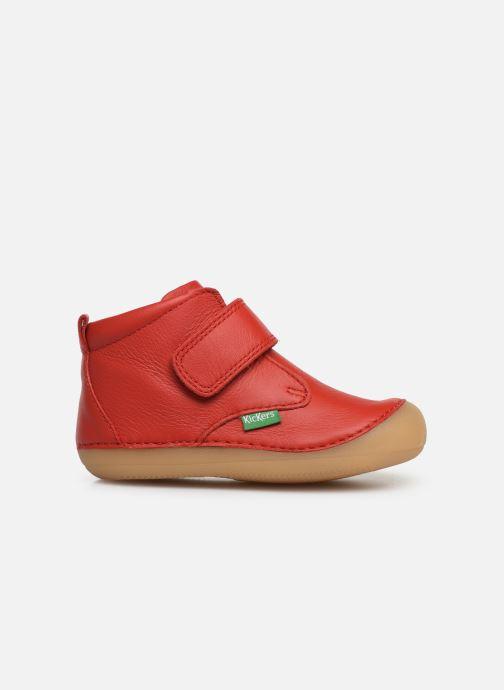 Boots en enkellaarsjes Kickers Sabio Rood achterkant