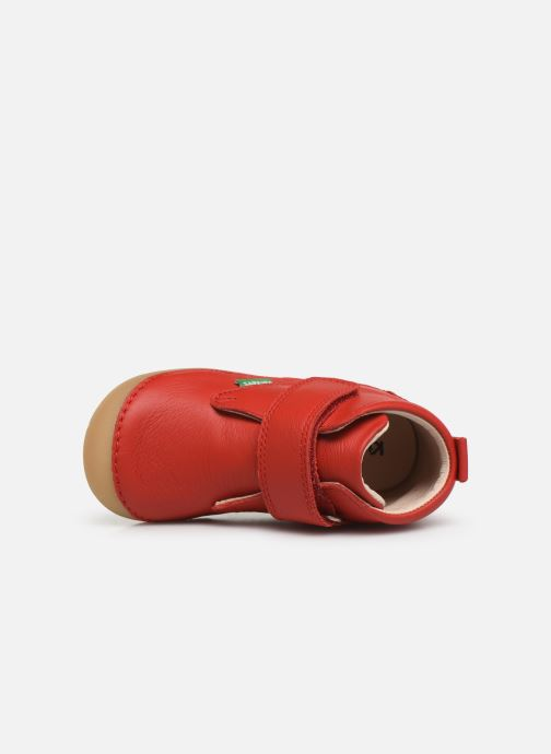 Stiefeletten & Boots Kickers Sabio rot ansicht von links