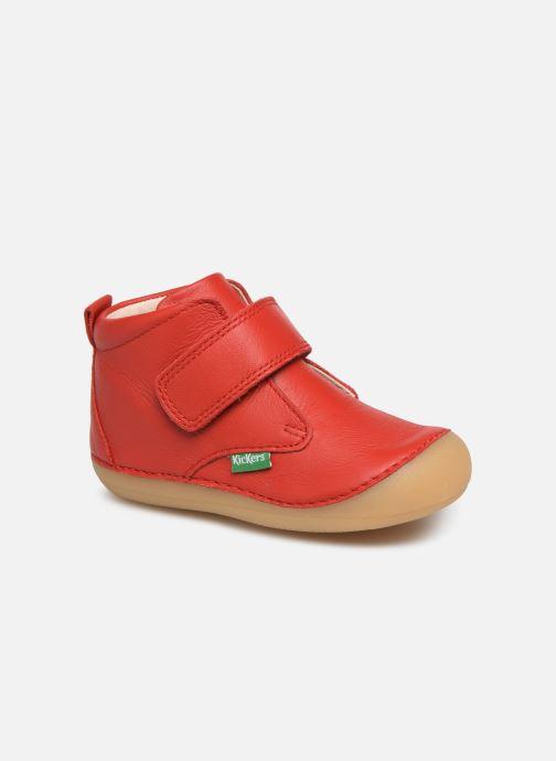 Boots en enkellaarsjes Kickers Sabio Rood detail