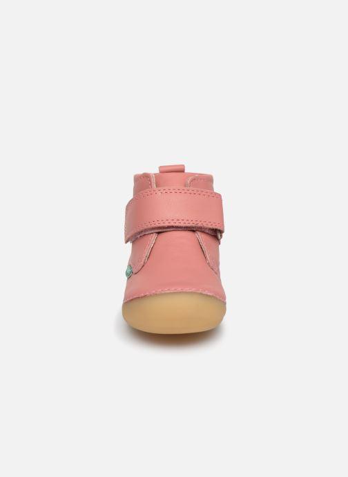 Stiefeletten & Boots Kickers Sabio rosa schuhe getragen