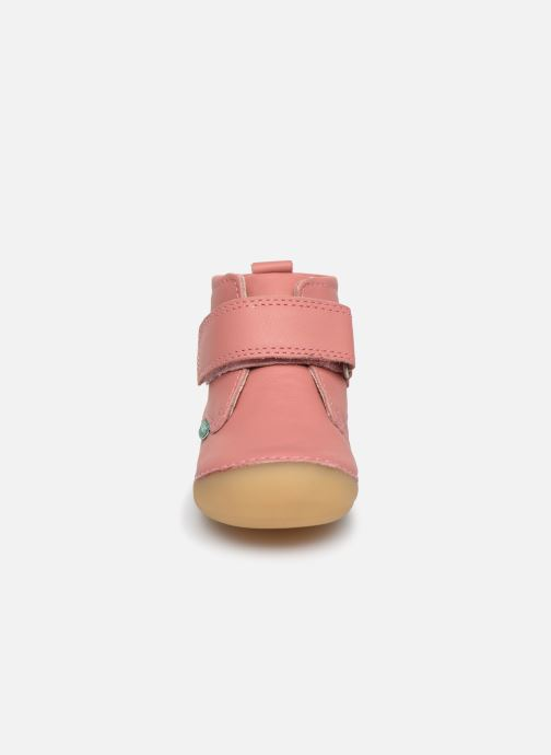 Boots en enkellaarsjes Kickers Sabio Roze model