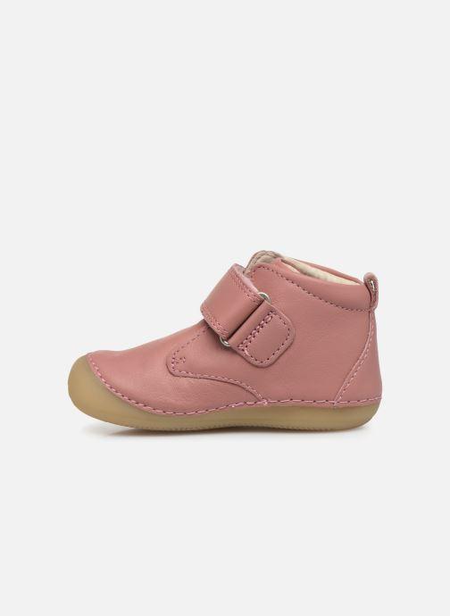 Stiefeletten & Boots Kickers Sabio rosa ansicht von vorne