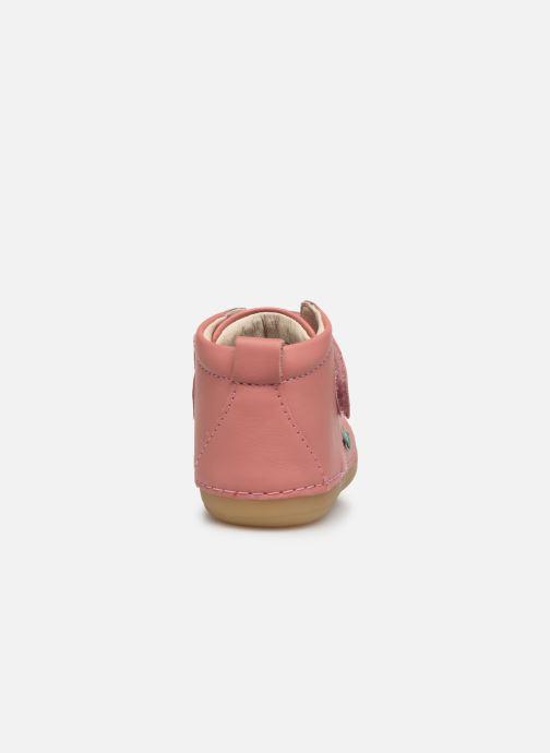 Stiefeletten & Boots Kickers Sabio rosa ansicht von rechts