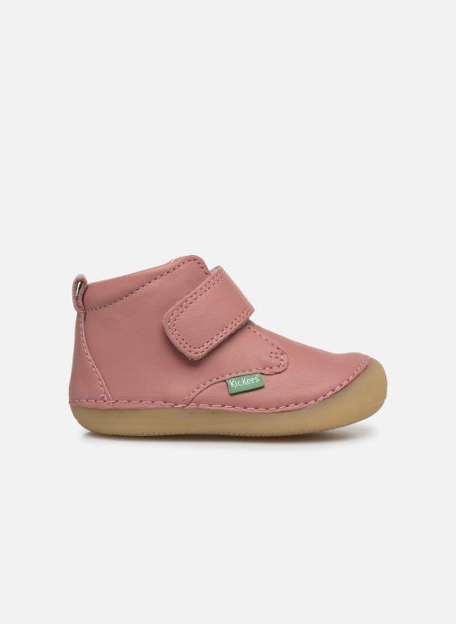 Boots en enkellaarsjes Kickers Sabio Roze achterkant