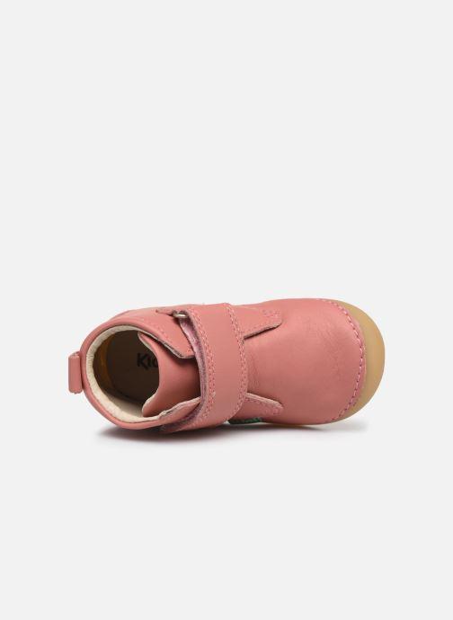 Boots en enkellaarsjes Kickers Sabio Roze links