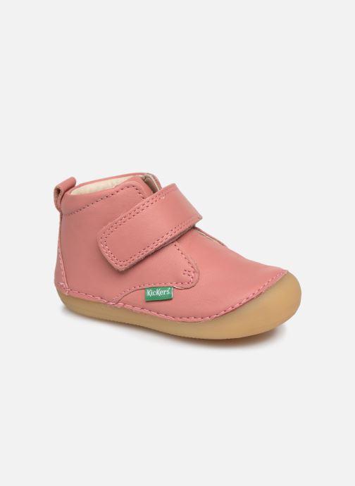 Boots en enkellaarsjes Kickers Sabio Roze detail