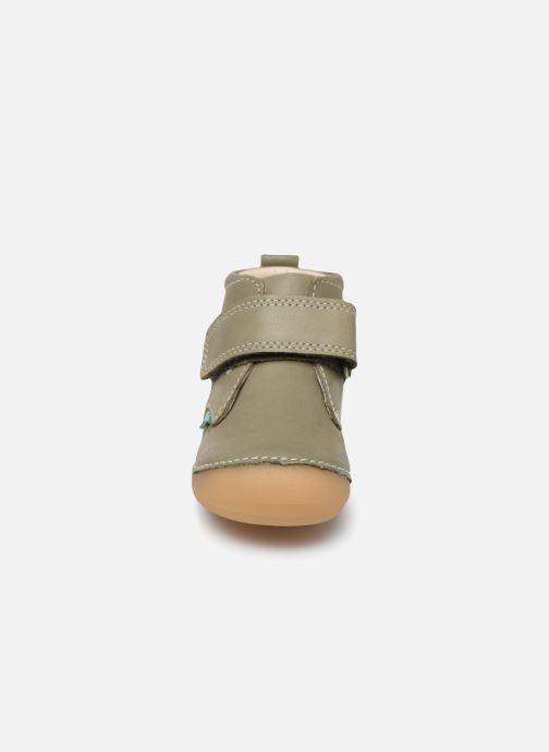 Bottines et boots Kickers Sabio Vert vue portées chaussures