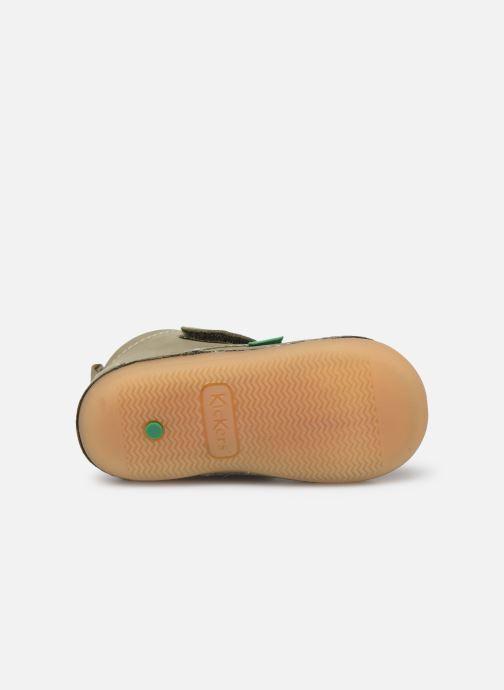 Bottines et boots Kickers Sabio Vert vue haut