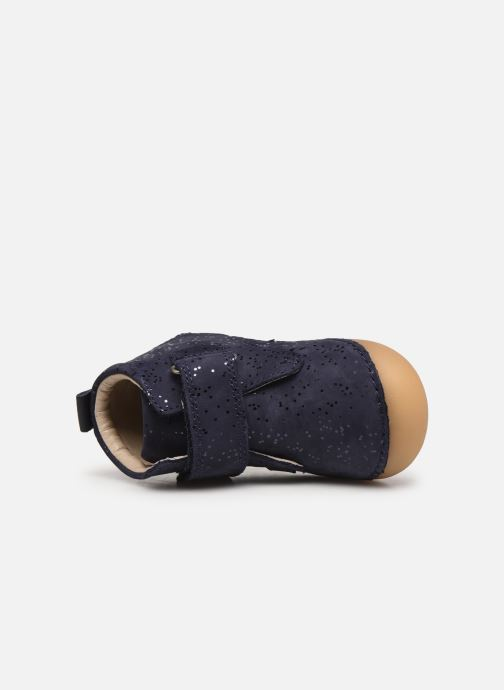 Bottines et boots Kickers Sabio Bleu vue gauche