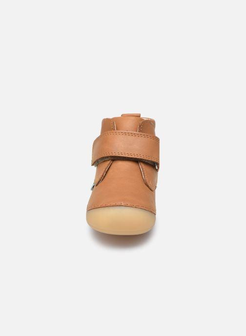 Stiefeletten & Boots Kickers Sabio braun schuhe getragen