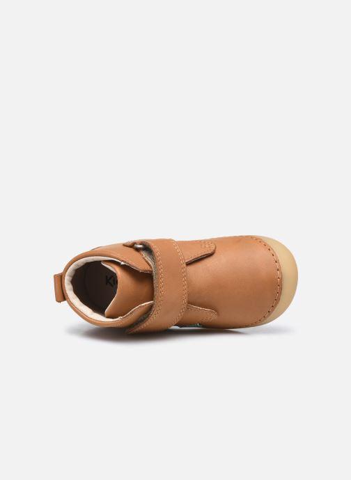 Stiefeletten & Boots Kickers Sabio braun ansicht von links