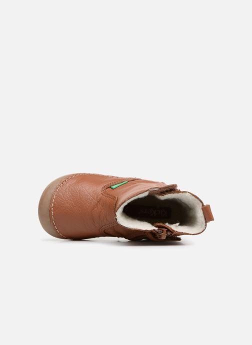 Stivali Kickers Socool Marrone immagine sinistra