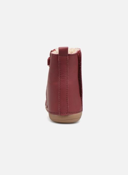 Bottes Kickers Socool Rose vue droite