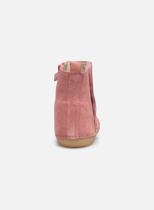Stiefel Kickers Socool rosa ansicht von rechts