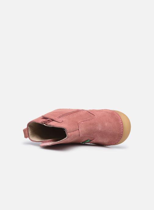 Stiefel Kickers Socool rosa ansicht von links