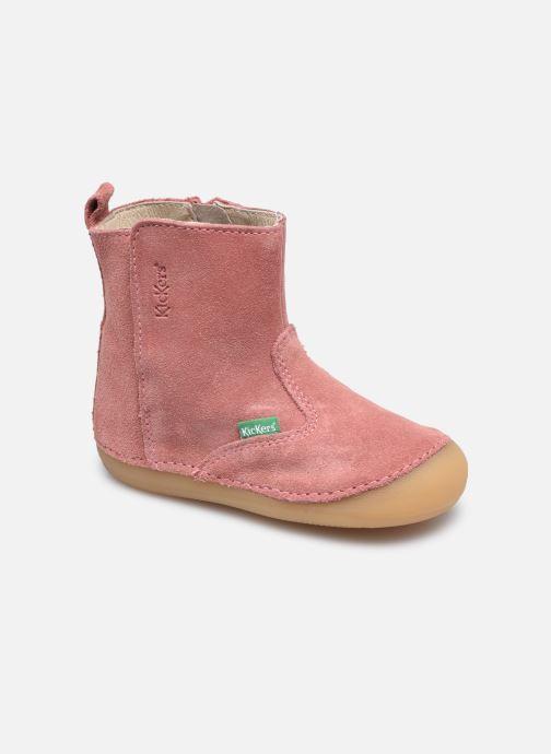 Stiefel Kickers Socool rosa detaillierte ansicht/modell