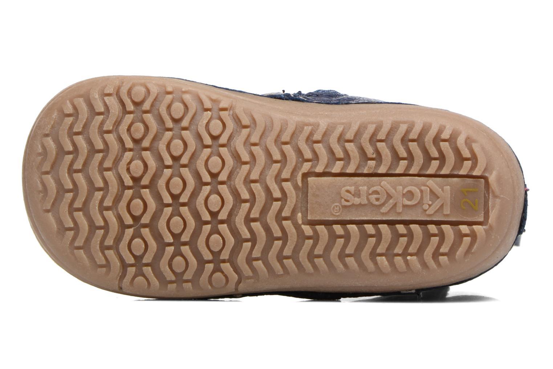 Stiefel Kickers Socool blau ansicht von oben