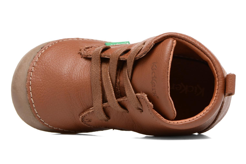 Stiefeletten & Boots Kickers Sonice weinrot ansicht von links