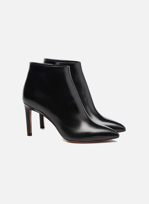 Ankle boots Santoni Engel 56724 Black 3/4 view