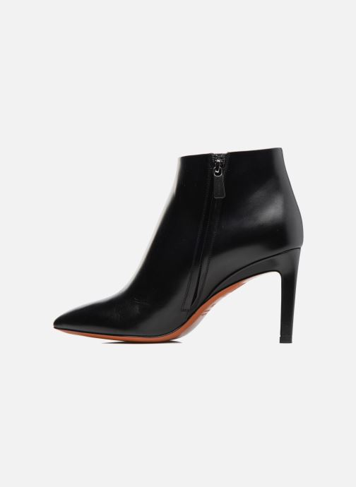 Ankle boots Santoni Engel 56724 Black front view