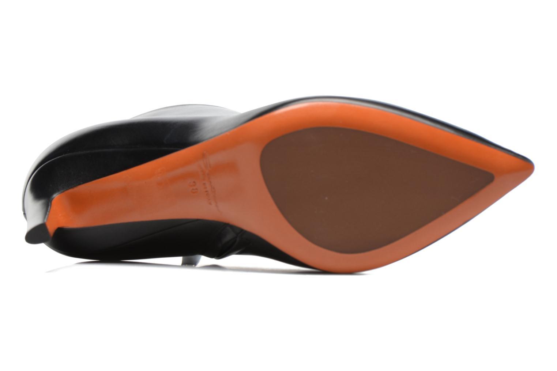 Bottines et boots Santoni Engel 56724 Noir vue haut