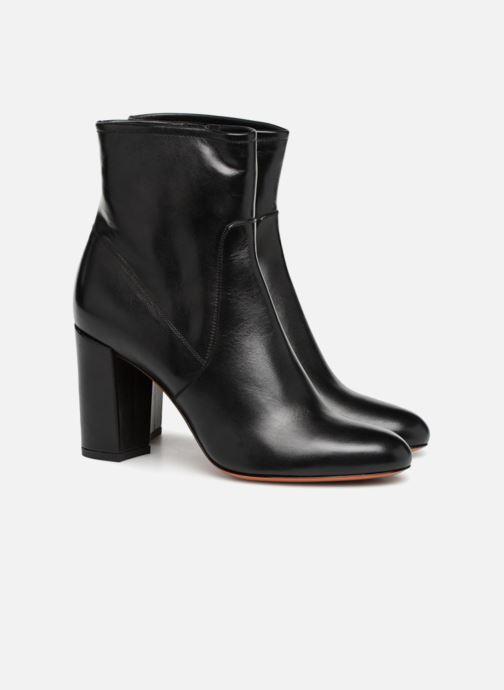 Ankle boots Santoni Venus 56323 Black 3/4 view