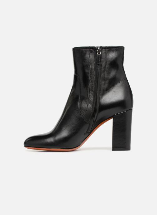 Ankle boots Santoni Venus 56323 Black front view