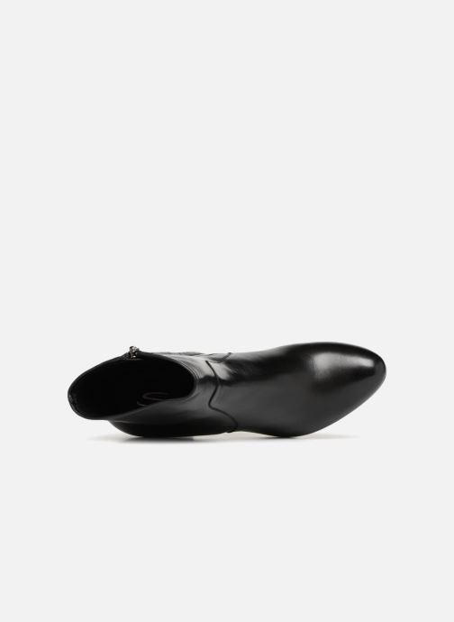 Boots en enkellaarsjes Santoni Venus 56323 Zwart links