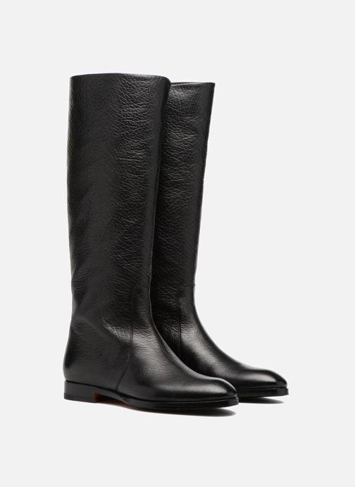Boots & wellies Santoni New Marlene 5585 Black 3/4 view