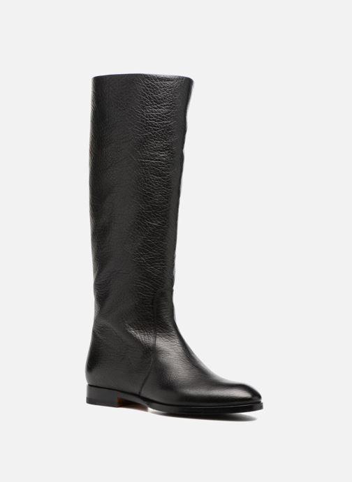 Boots & wellies Santoni New Marlene 5585 Black detailed view/ Pair view