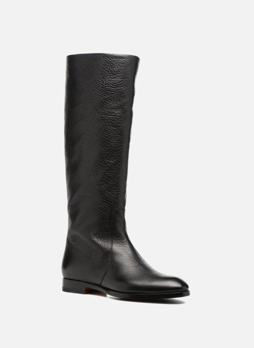 Boots & wellies Santoni New Marlene 5585 Black detailed view/ Pair view