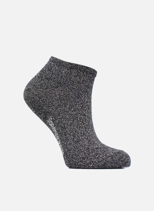 Strømper og tights Sarenza Wear Chaussettes Invisibles lurex Femme Coton Sort detaljeret billede af skoene