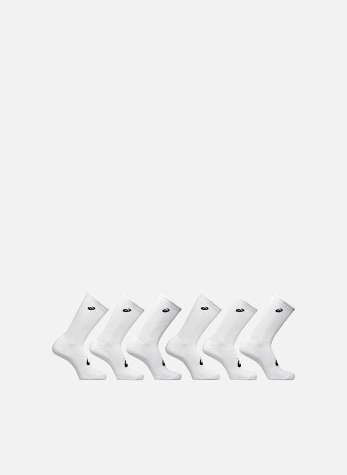 Chaussettes et collants Asics 6PKK CREW SOCK Blanc vue détail/paire