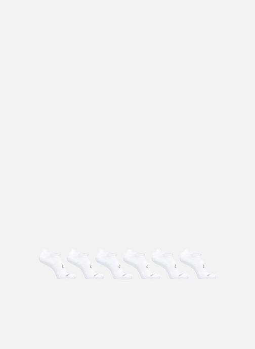 Chaussettes et collants Asics 6PPK INVISIBLE SOCK Blanc vue détail/paire