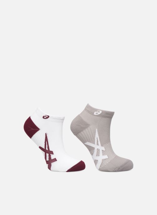 Chaussettes et collants Asics 2PPK LIGHTWEIGHT SOCK Bordeaux vue détail/paire