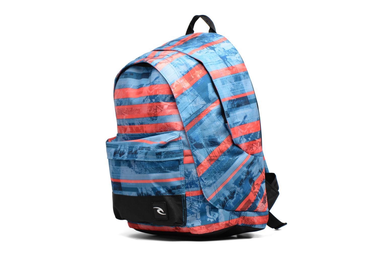School bags Rip Curl Double dome Ocean Glitch Multicolor model view