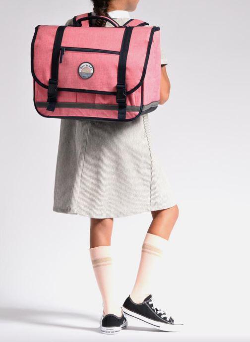 Schulzubehör Rip Curl Solid Satchel rosa ansicht von unten / tasche getragen