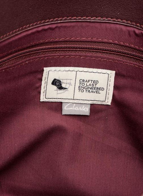 Handtaschen Clarks MOROCCAN JEWEL Crossbody weinrot ansicht von hinten