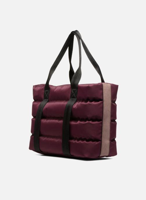 Handtaschen Clarks TASMIN BELLA Cabas lila ansicht von rechts