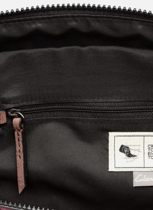 Handbags Clarks TASMIN BELLA Cabas Purple back view