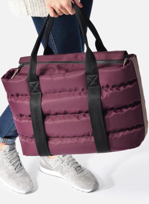 Handtaschen Clarks TASMIN BELLA Cabas blau ansicht von unten / tasche getragen
