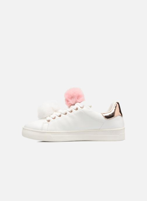 Baskets I Love Shoes Mc Etapom Blanc vue face