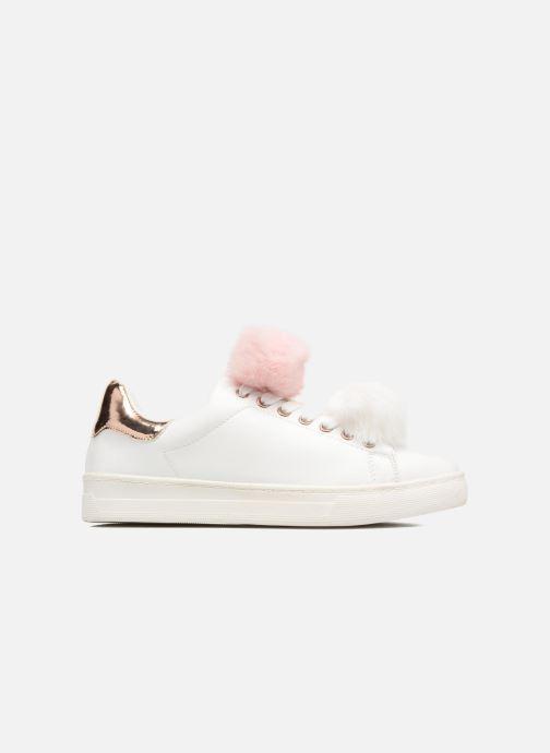 Baskets I Love Shoes Mc Etapom Blanc vue derrière