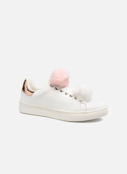 Baskets I Love Shoes Mc Etapom Blanc vue détail/paire