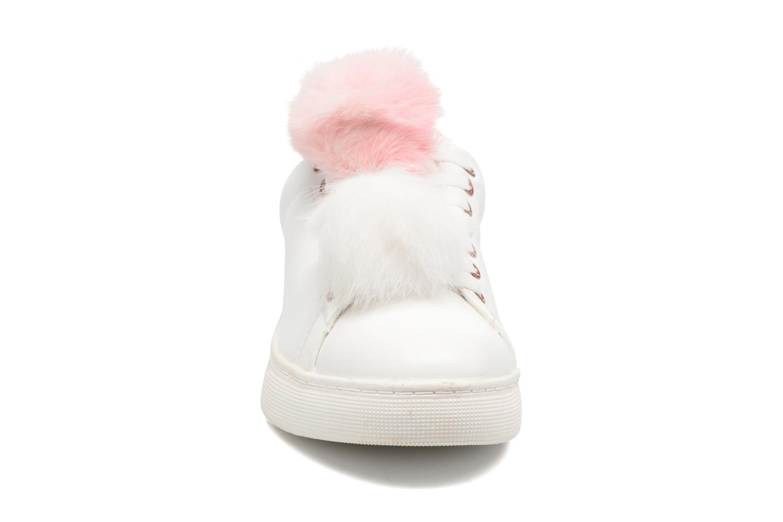 Baskets I Love Shoes Mc Etapom Blanc vue portées chaussures
