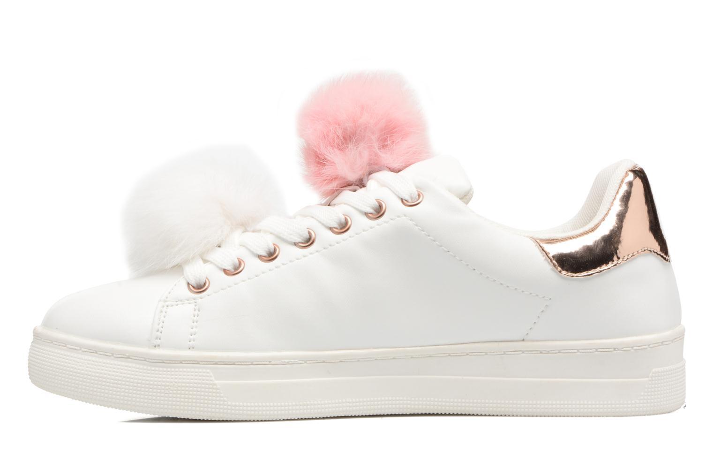 Baskets I Love Shoes Mc Etapom Blanc vue face