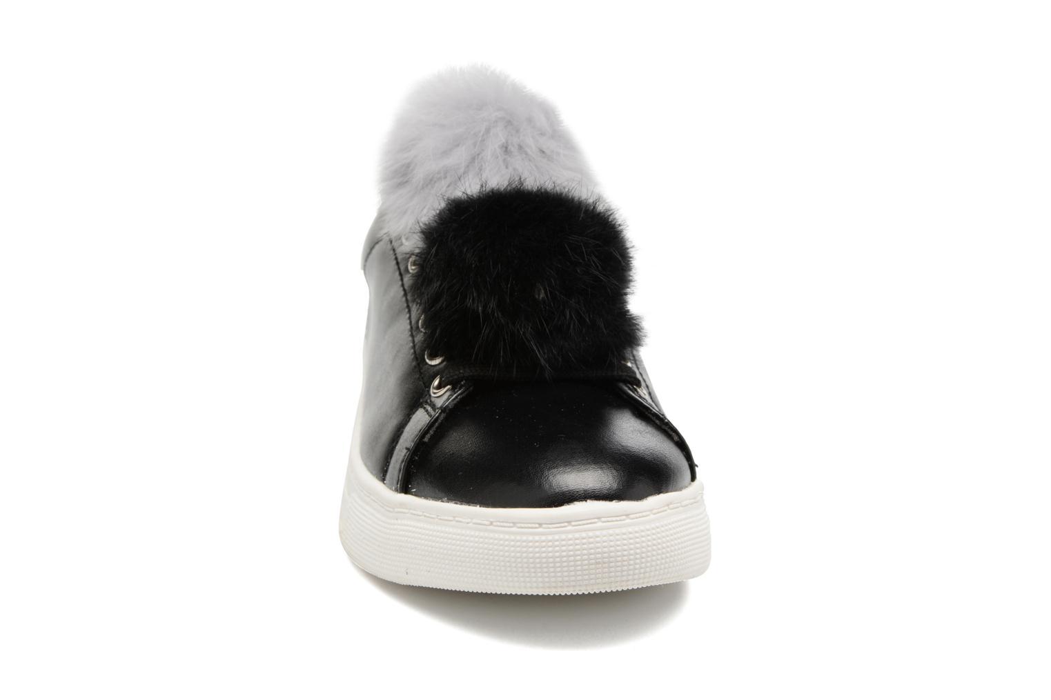 Baskets I Love Shoes Mc Etapom Noir vue portées chaussures