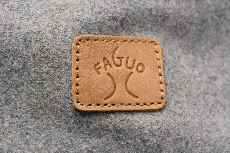 Sacs à dos Faguo Cycling wool Gris vue gauche